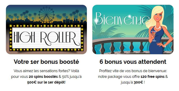 Bonus de bienvenue Azur Casino