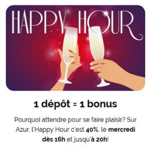 Happy Hour Azur Casino