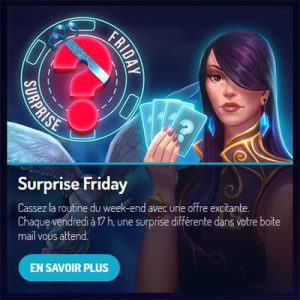 Surprise Friday Lucky8