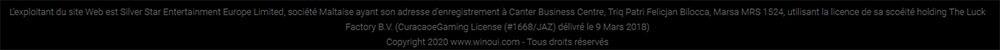 Enregistrement entreprise Winoui