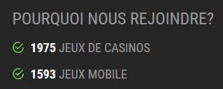 Nombre de jeux Winoui